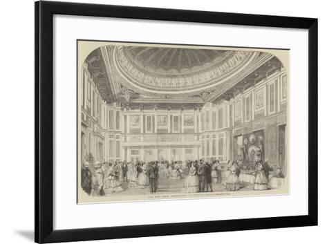 The New State Supper-Room, Buckingham Palace--Framed Art Print