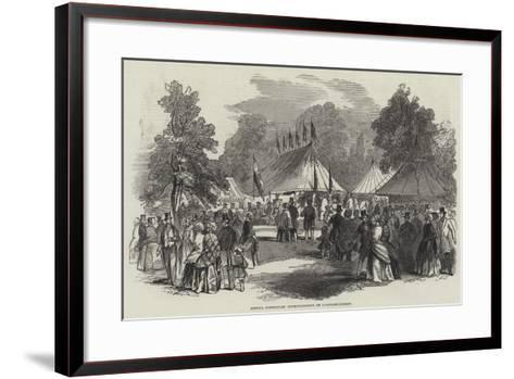 Special Constables Entertainment on Clapham-Common--Framed Art Print