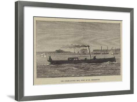 The Steam-Launch Mab, Built at St Petersburg--Framed Art Print