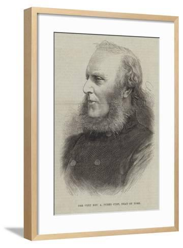 The Very Reverend a Purey Cust, Dean of York--Framed Art Print