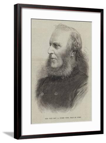 The Very Reverend a Purey Cust, Dean of York--Framed Art Print