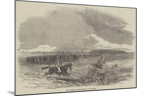 The Waterloo Coursing Meeting, at Liverpool--Mounted Giclee Print