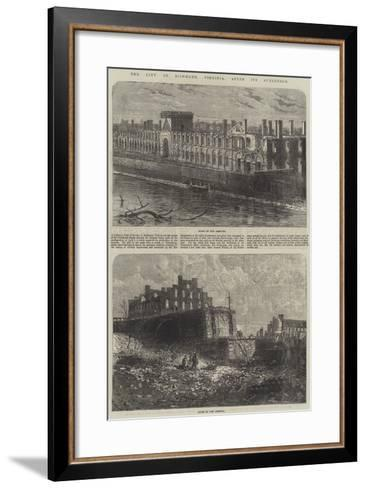 The City of Richmond, Virginia, after its Surrender--Framed Art Print