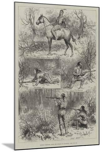 Hunting Sketches Among the Indians of Minnesota--Mounted Giclee Print