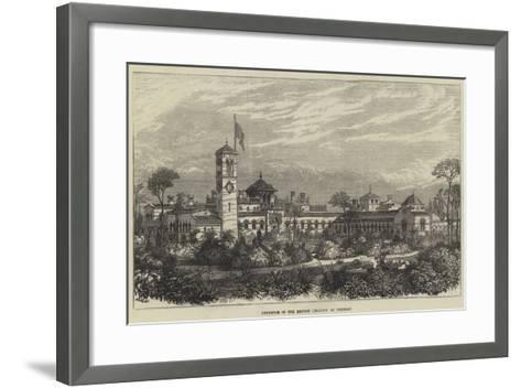 Residence of the British Legation at Teheran--Framed Art Print