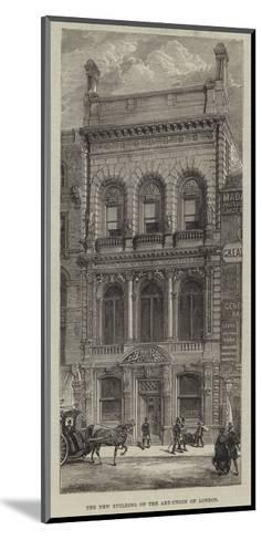 The New Building of the Art-Union of London--Mounted Giclee Print