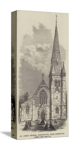 St John's Church, Horninglow, Near Burton-On-Trent--Stretched Canvas Print