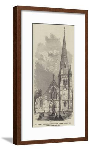 St John's Church, Horninglow, Near Burton-On-Trent--Framed Art Print