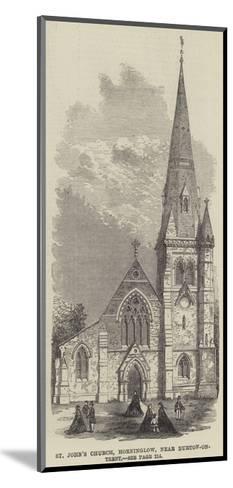 St John's Church, Horninglow, Near Burton-On-Trent--Mounted Giclee Print