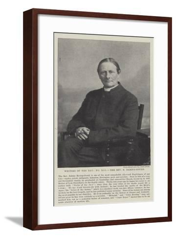Writers of the Day, the Reverend S Baring-Gould--Framed Art Print
