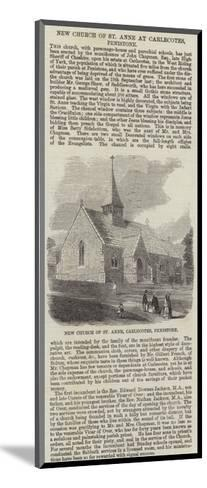 New Church of St Anne at Carlecotes, Penistone--Mounted Giclee Print