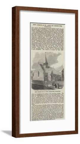 New Church of St Anne at Carlecotes, Penistone--Framed Art Print
