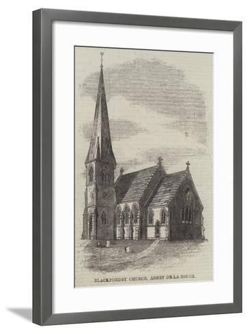 Blackfordby Church, Ashby-De-La-Zouch--Framed Art Print