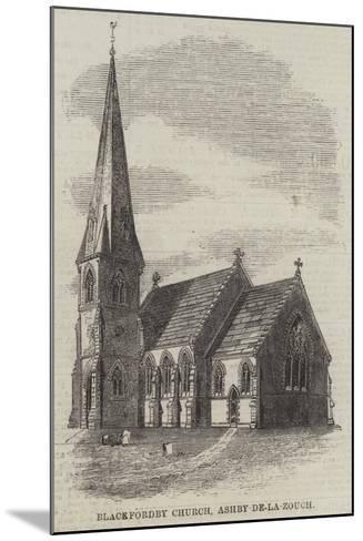 Blackfordby Church, Ashby-De-La-Zouch--Mounted Giclee Print