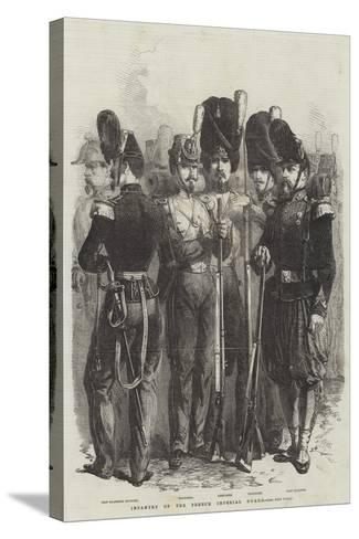 Infantry of the French Imperial Guard--Stretched Canvas Print