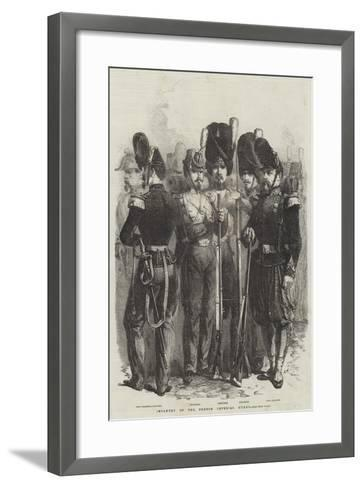 Infantry of the French Imperial Guard--Framed Art Print