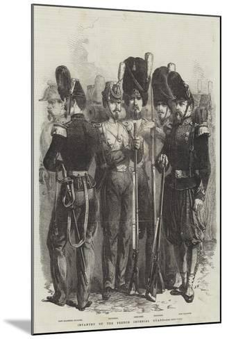 Infantry of the French Imperial Guard--Mounted Giclee Print