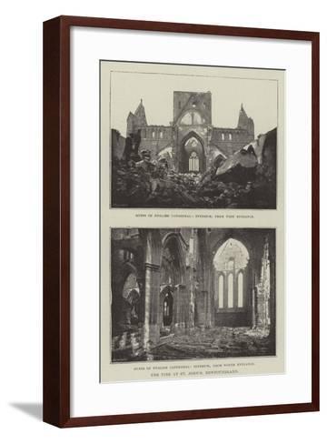 The Fire at St John's, Newfoundland--Framed Art Print