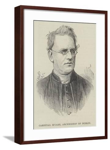 Cardinal M'Cabe, Archbishop of Dublin--Framed Art Print