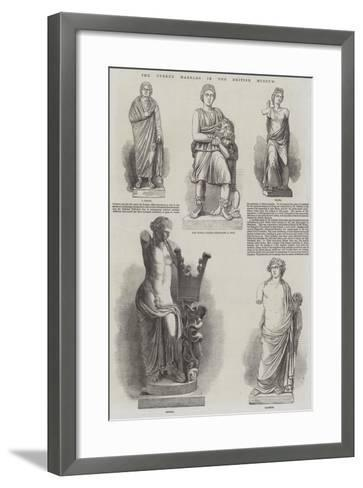 The Cyrene Marbles in the British Museum--Framed Art Print