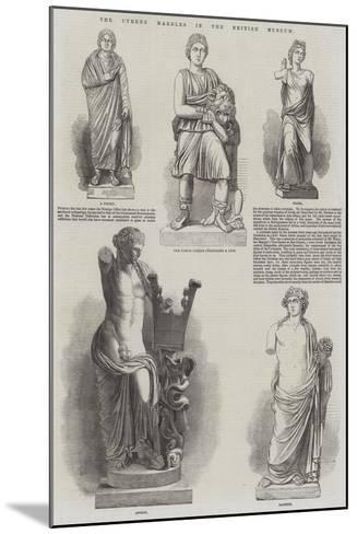 The Cyrene Marbles in the British Museum--Mounted Giclee Print