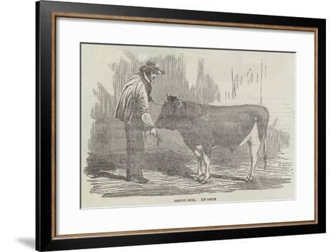 The Agricultural Exhibition of France--Framed Art Print