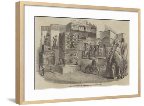 The Japanese Exhibition, in Pall-Mall East--Framed Art Print