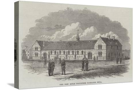 The New Rifle Volunteer Barracks, Hull--Stretched Canvas Print