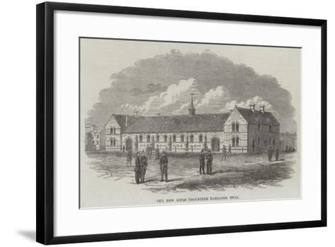 The New Rifle Volunteer Barracks, Hull--Framed Art Print