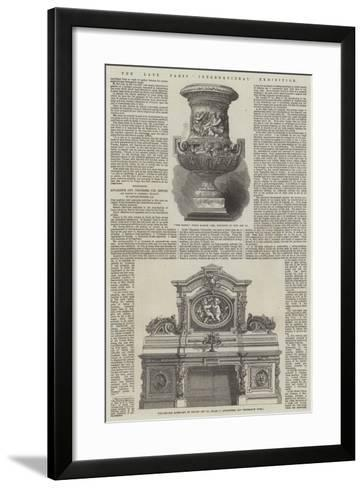 The Late Paris International Exhibition--Framed Art Print
