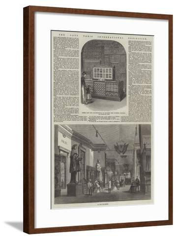 The Late Paris International Exhibition--Framed Art Print