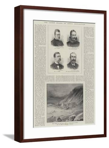 The Latest Stages of Arctic Exploration--Framed Art Print