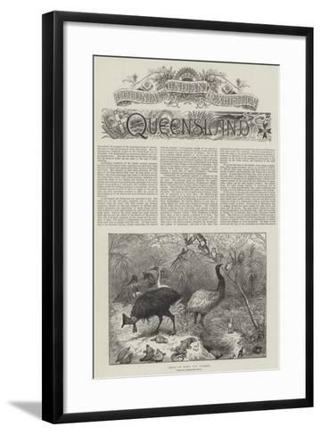Colonial and Indian Exhibition, Queensland--Framed Art Print