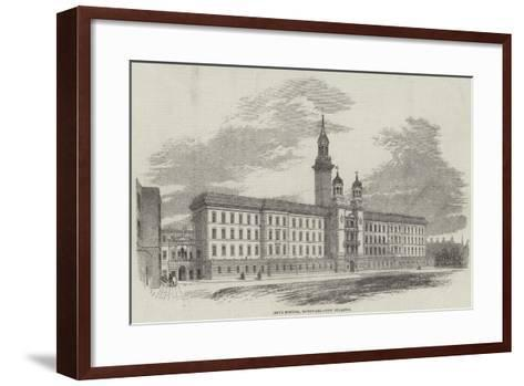 Guy's Hospital, Southwark, New Buildings--Framed Art Print
