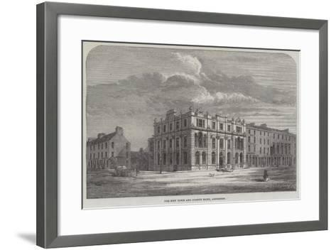 The New Town and County Bank, Aberdeen--Framed Art Print