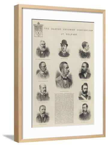 The Ulster Unionist Convention at Belfast--Framed Art Print