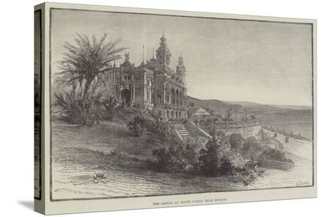The Casino at Monte Carlo, Near Monaco--Stretched Canvas Print