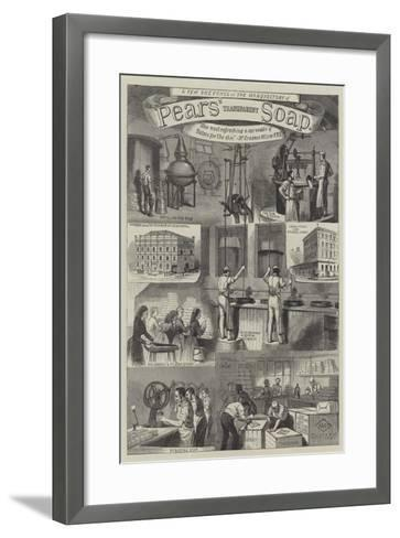 Advertisement, Pears' Transparent Soap--Framed Art Print