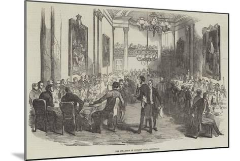 The Collation in Cutlers' Hall, Sheffield--Mounted Giclee Print