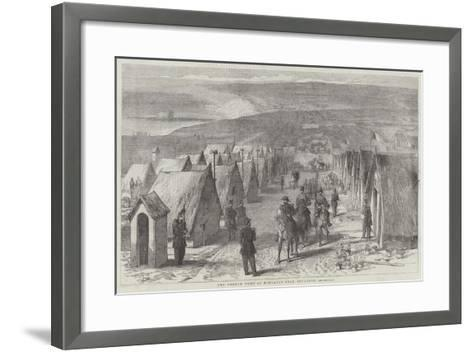 The French Camp at Honvault, Near Boulogne--Framed Art Print
