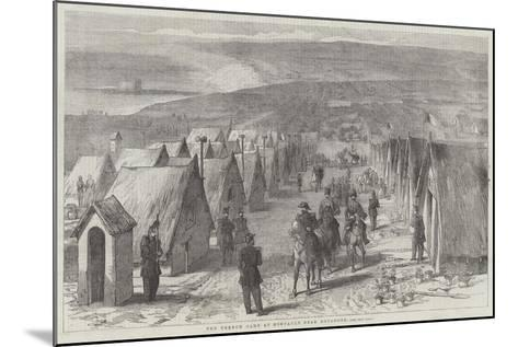 The French Camp at Honvault, Near Boulogne--Mounted Giclee Print
