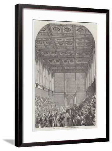 The Victoria Gallery, House of Lords--Framed Art Print