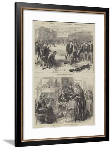 The Freemasons' Benevolent Institutions--Framed Art Print
