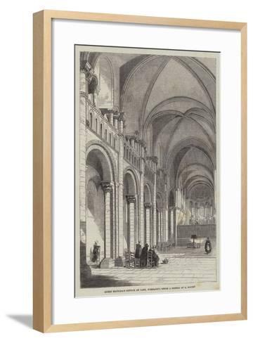 Queen Matilda's Church at Caen, Normandy--Framed Art Print
