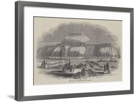 The New Palm Conservatory, Kew Gardens--Framed Art Print