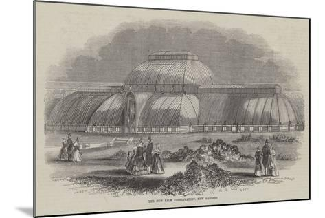 The New Palm Conservatory, Kew Gardens--Mounted Giclee Print