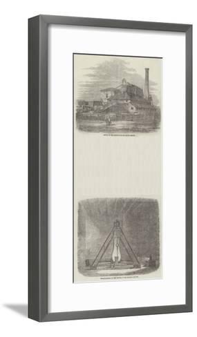 The South Shields Pendulum Experiments--Framed Art Print