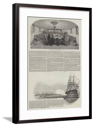 The Queen's Second Visit to Scotland--Framed Art Print