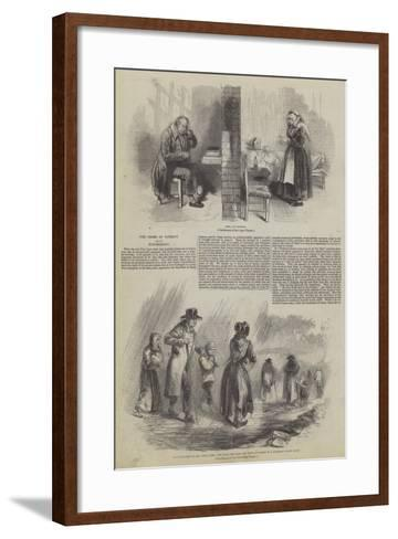 The Crime of Poverty and its Punishment--Framed Art Print