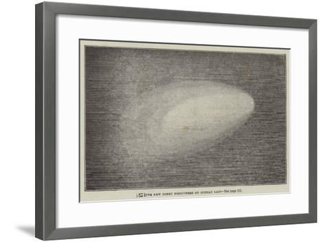 The New Comet Discovered on Sunday Last--Framed Art Print